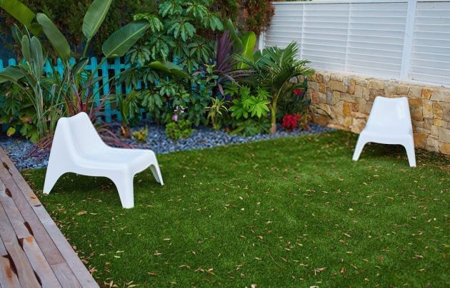 can I lay artificial grass on top of turf?