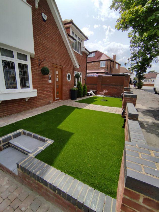 install artificial grass